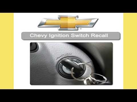 Chevy Ignition Switch Recall Information