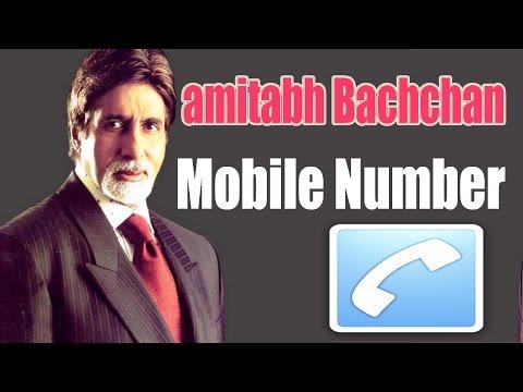 Amitabh Bachchan Mobile Number