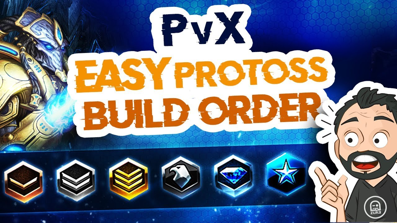 Starcraft 2 - PvX - Easy Beginner Protoss Build Order ! You can reach Master League !