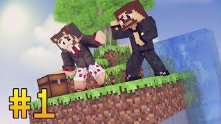 ВЫЖИВАНИЕ НА ОДНОМ ЧАНКЕ С АЧИВКАМИ - ТАЙНА ЛЕТАЮЩЕГО ОСТРОВА - Minecraft Прохождение Карты