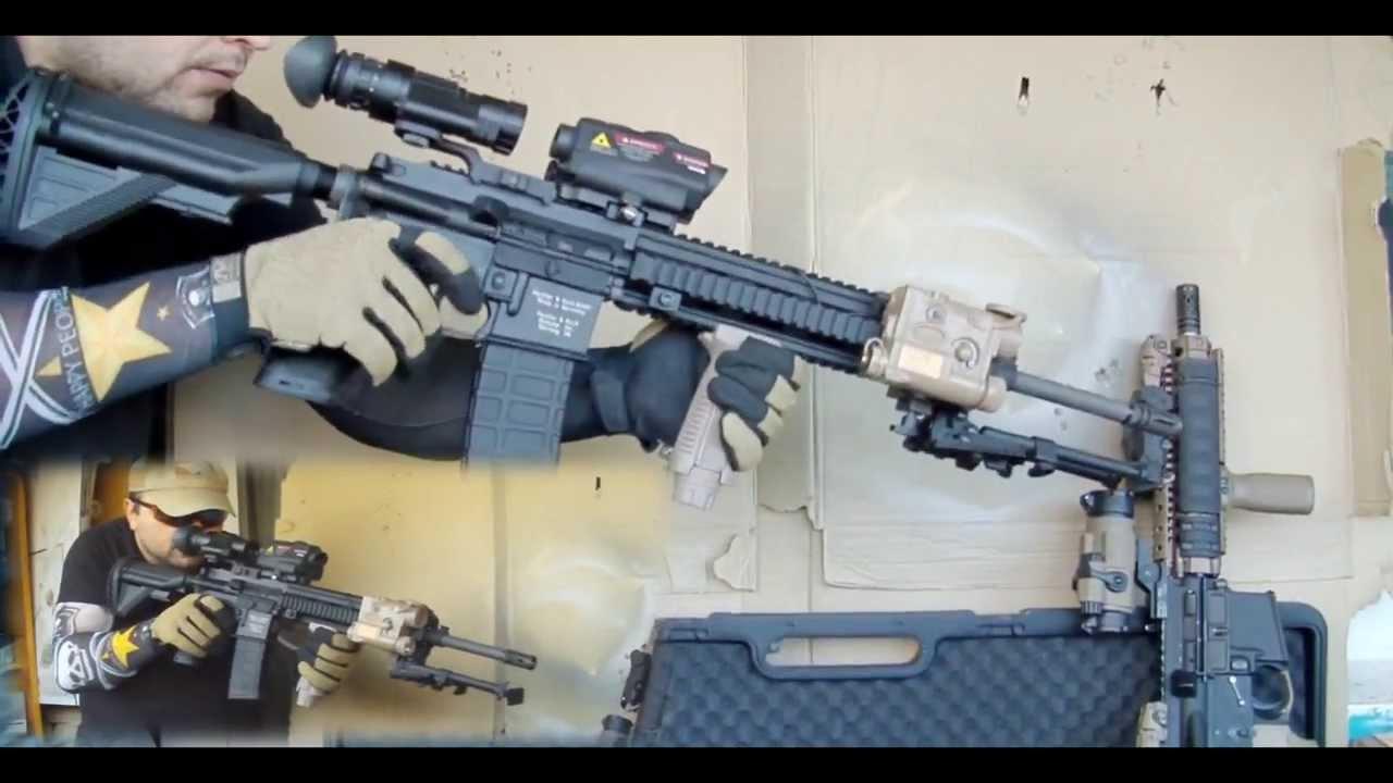 VFC/UMAREX HK416D M27 IAR GBB Rifle (Shot Show 2012 version) AirSoft