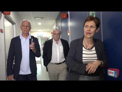 CERM La Visita Ai Laboratori Accompagnati Da Claudio Luchinat  E Da Lucia Banci