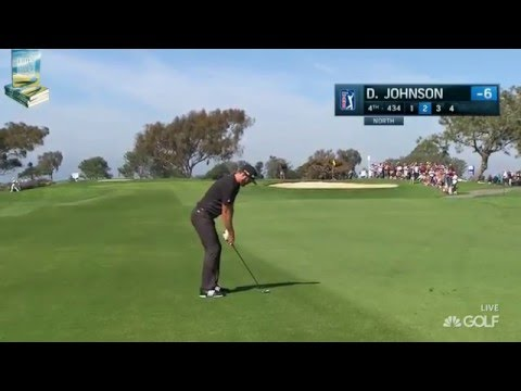 Dustin Johnson's Excellent Golf Shots 2016 Farmers Insurance PGA Tour YT 19/3/2016