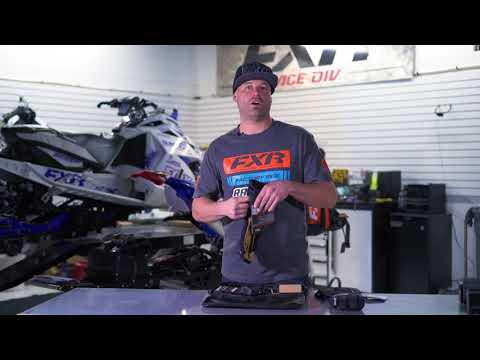 FXR Heated Transfer Snowmobile Glove - Review