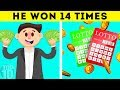 How This Man Won The Lottery 14 Times
