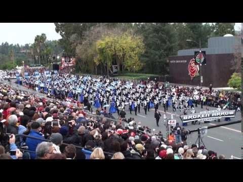The Pride of Broken Arrow HS Marching Band - 2017 Pasadena Rose Parade