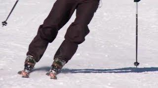 Урок 11 - Как кататься на лыжах и держать их параллельно #11
