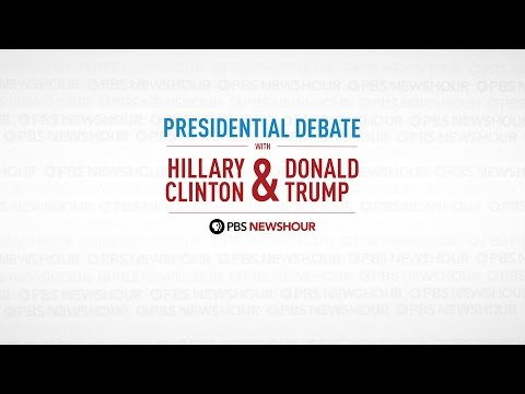 Watch the full first 2016 Presidential Debate | PBS NewsHour