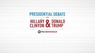 Watch the full first 2016 Presidential Debate | PBS NewsHour(Hillary Clinton and Donald Trump face off for the first of three debates. Who will win the night? Watch PBS NewsHour for the full debate, plus analysis from Mark ..., 2016-09-27T05:01:57.000Z)