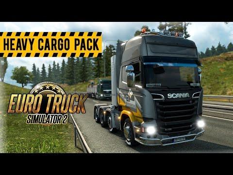 Heavy Cargo Pack DLC - Euro Truck Simulator 2
