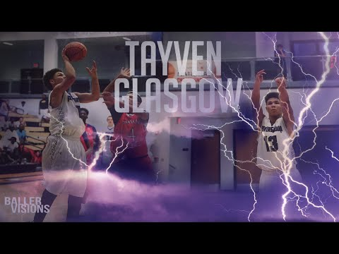"""Class of 2020 6'0"""" Guard Tayven Glasgow Has Potential To Be Great!"""