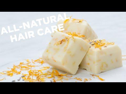 DIY Shampoo And Conditioner Bars