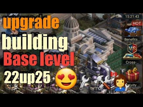 Last Empire War.z #upgrade Building Base Level 22 To 25