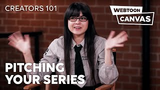 Pitching Your Series ft. I'm the Grim Reaper Creator | Creators 101