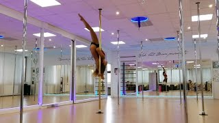 Pole Dance Freestyle Choreography on Ed Sheeran - I see Fire (The Highend Cover)