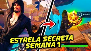 STAR SECRET SEASON 8 WEEK 1-Fortnite Battle Royale