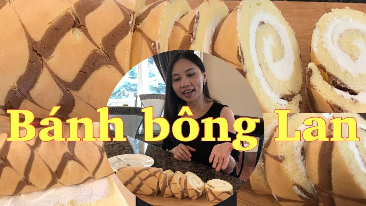 Cách Làm Bánh Bông Lan Cuộn Đơn Giản Và Thơm Ngon – Vanilla Swiss Roll Cake Recipe