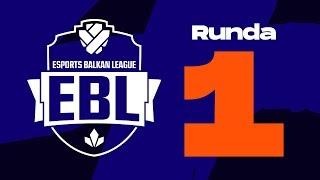 EBL LoL 2019 Runda 1 - ASUS vs Level Up w/ Sa1na, Mićko i Đorđe Đurđev