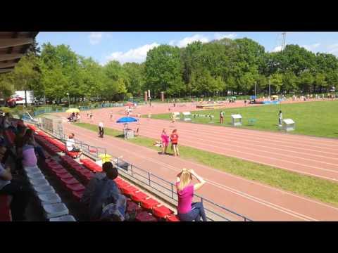 200m, IV seria, X WOM, Wrocław 14.05.2017