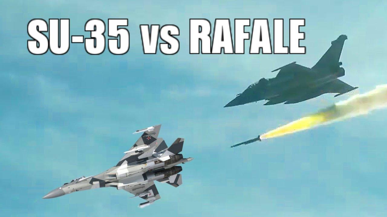 Су-35 проиграл воздушный бой истребителю Dassault Rafale