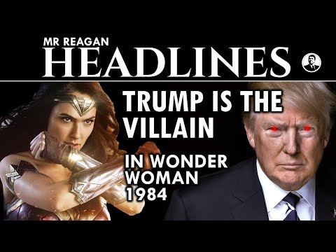Trump is the Villain in Wonder Woman 1984