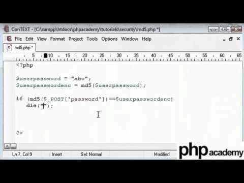 MD5 Encryption - English