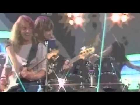 Iron Maiden  Wasted Years  German TV 1987 Rare