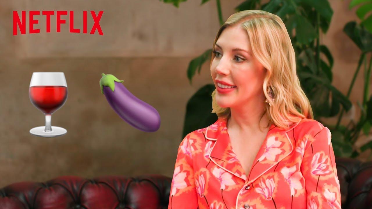 Katherine Ryan Talks Day Drinking, Dick and Kardashians   Netflix IX  Interview
