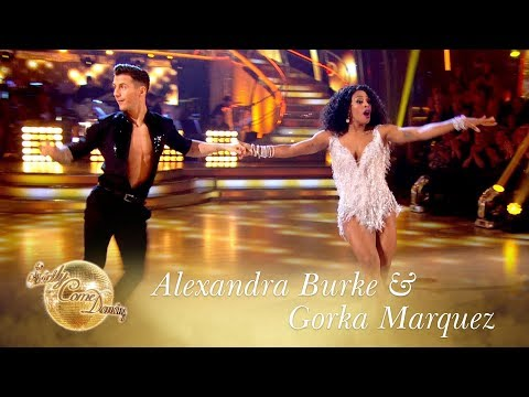 Favourite Dance: Alexandra Burke & Gorka Marquez Jive to Proud Mary - Final 2017