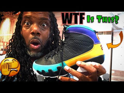 Air Jordan 9 Dream To Do It Early Review! Nike Adapt BB On Foot! Footlocker HOH Pop Up!