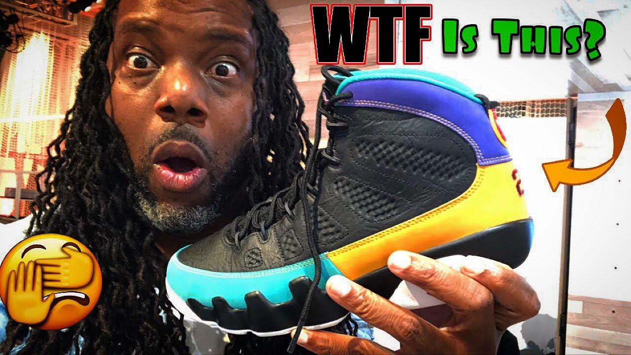 102846de53e4 Air Jordan 9 Dream To Do It Early Review! Nike Adapt BB On Foot! Footlocker  HOH Pop Up!