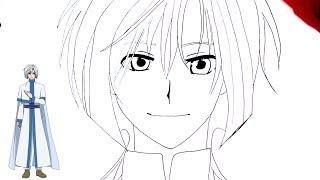 رسم كيجا أنمي فجر يونا  (暁のヨナ) خطوة بخطوة بالرصاص والتخطيط الجزء الأول Part1