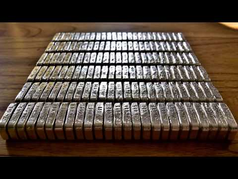 "500+ oz of Hallmarked ""100g Silver Forum Bars"" available for sale now - Get yours today!"