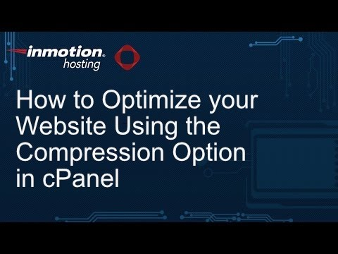 How to Optimize Your Website with Compression in the cPanel