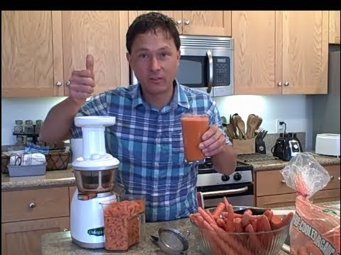 Fresh Carrot Juice - Best Bang for the Buck to Build Your Health