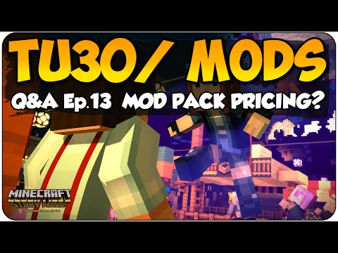 Minecraft Q&A EP.13 TU30 Release Date & Cost Of Mods? Xbox 360 & PS3 Edition Story Mode Talk