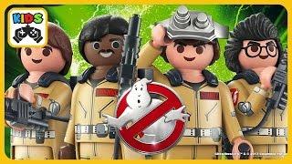 Playmobil Ghostbusters - Oхотники за привидениями - мультик игра дл...