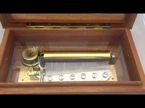 Reuge 72 Note  Music  Box Repair