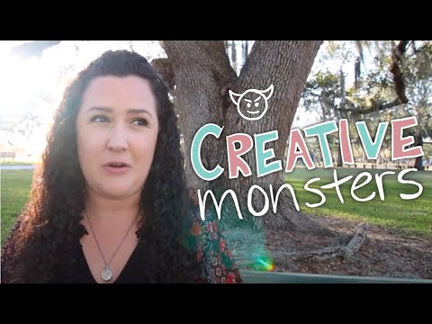 Creative Monsters: Dealing with Haters and Dream Killers