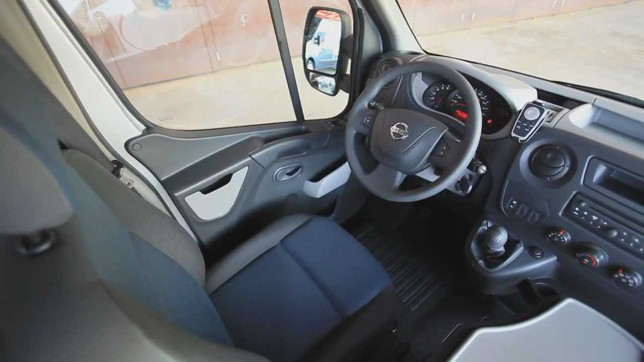 Nissan Nv Passenger >> Nissan NV400 Interiors - YouTube