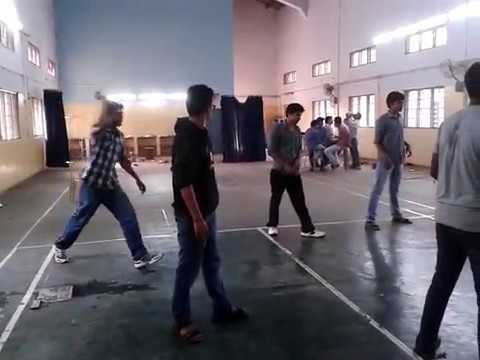 Badminton Court Cricket in Army Institute Of Technology Pune, 2012