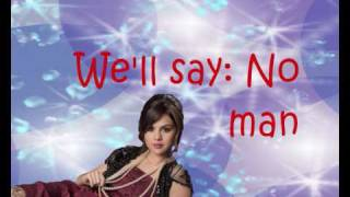 Selena Gomez- Winter Wonderland- Full HQ (lyrics on screen)