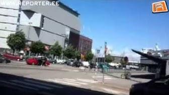 Poliisi ampuu miestä Länsisatamassa 15.06.2013