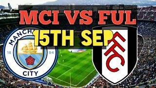 MCI VS FUL | DREAM11 TEAM|Manchester City VS Fulham|Ful vs mci match Prediction