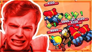 THE WORST TEAMING i've ever seen in BRAWL STARS