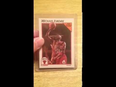 1991-92 NBA Hoops Michael Jordan MVP Basketball Card #30 - Chicago Bulls