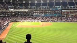 Giambi Walk off from sec 307 vs White Sox 9/24