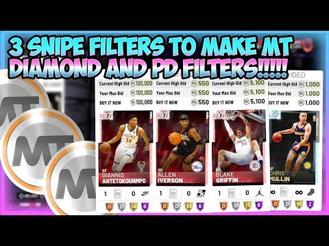 Repeat NBA2K19 - 3 SNIPE FILTERS TO MAKE TONS OF MT ON THE