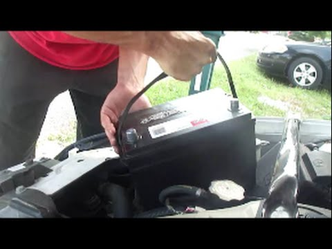 Installing Battery In 2010 Chevy Impala Lt