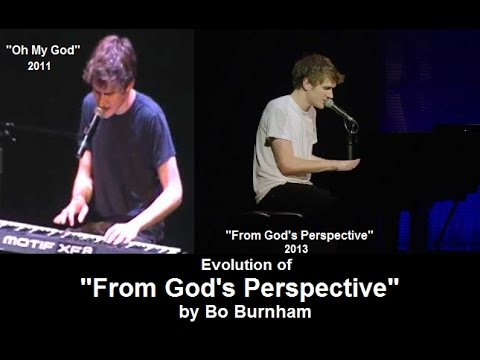 "Evolution of Bo Burnham's ""From God's Perspective"""